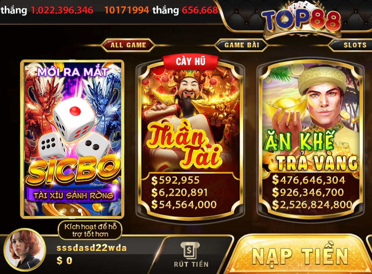game bai top88