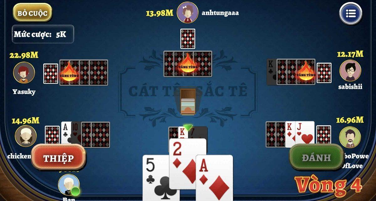 bài catte game bài top88